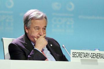 António Guterres « déçu » par le résultat de la COP25