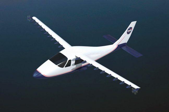 La Nasa dévoile son premier avion tout électrique