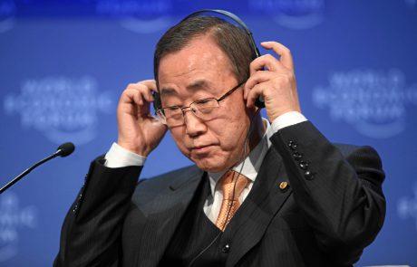 """Pour Ban Ki-moon, le monde a atteint un """"point de non-retour"""""""