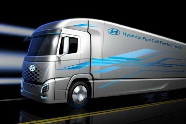 Hyundai va lancer des camions à hydrogène