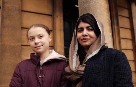 Greta a rencontré Malala: les jeunes militantes photographiées ensemble à Oxford