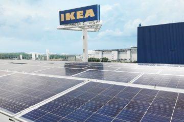 IKEA va vendre de l'énergie propre aux foyers suédois