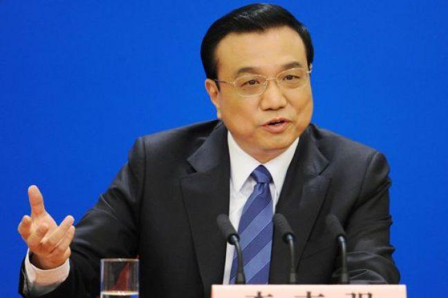"""Le Premier ministre chinois exhorte les grandes puissances à """"prendre leurs responsabilités"""" en matière d'environnement"""