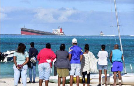 La France vient en aide à l'île Maurice suite à la marée noire