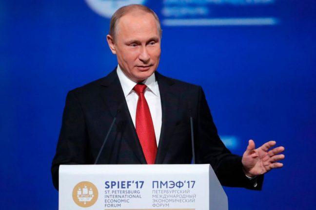 Poutine ordonne au gouvernement russe d'essayer d'atteindre les objectifs climatiques de l'accord de Paris