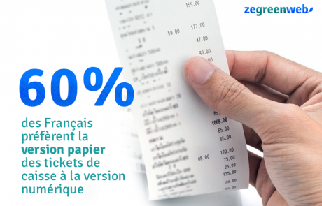 Les Français toujours favorables aux tickets de caisse en papier : une mauvaise nouvelle pour l'environnement ?