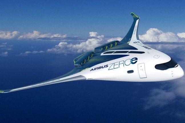 Airbus dévoile des concepts d'avion à hydrogène
