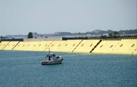 La barrière anti-inondation Mose retient enfin les eaux de la fragile Venise