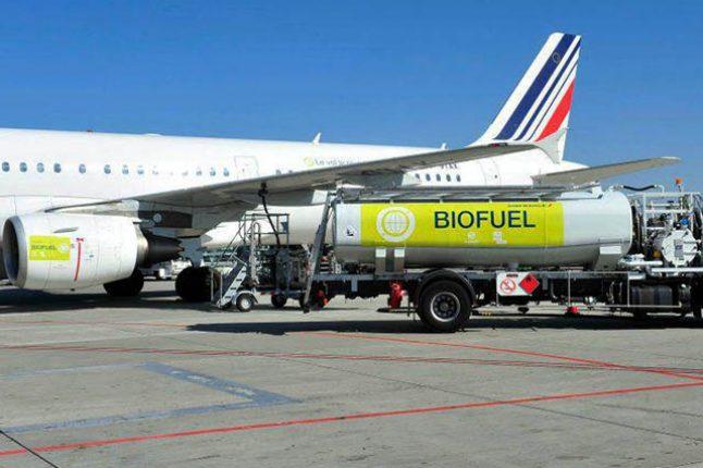 Air France utilise de l'huile de cuisson pour se rendre au Canada