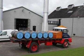 Glenfiddich utilise des déchets de whisky pour alimenter les camions