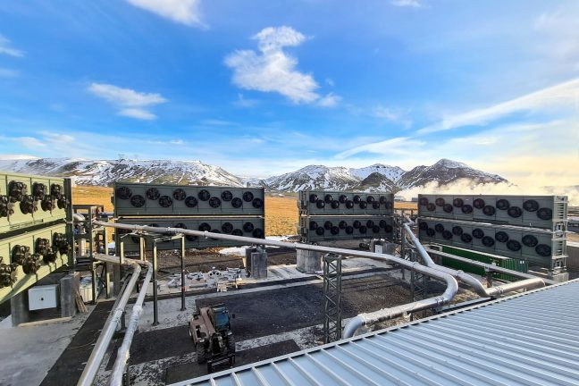 Les projets mondiaux de capture de carbone augmentent de 50% en 9 mois