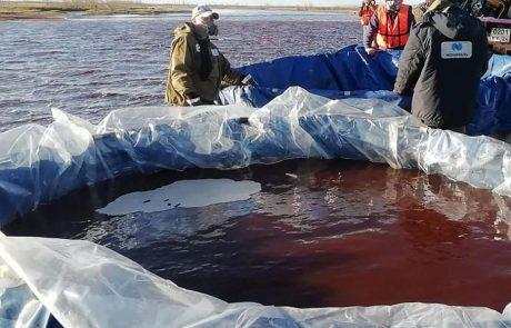 Une décharge d'eaux usées toxique déversée dans l'Arctique