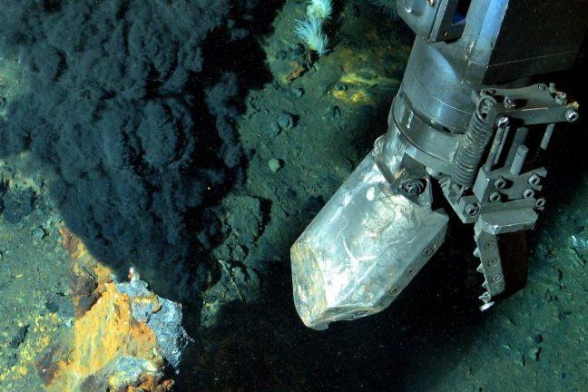 Les tests d'exploitation minière en haute mer reprennent après le sauvetage d'un robot du fond de l'océan Pacifique