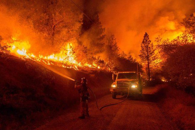 États-Unis : l'homme responsable de 84% des feux de forêt