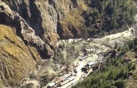 Un glacier himalayen se brise en Inde, entrainant 125 disparus dans les inondations
