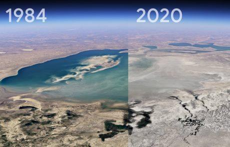 Une nouvelle fonctionnalité de Google Earth met en lumière le changement climatique