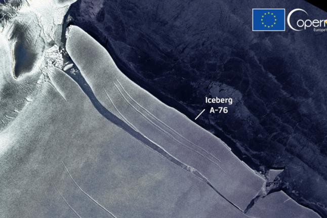 Le plus grand iceberg du monde observé par l'Agence spatiale européenne