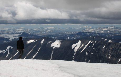 Avec le réchauffement climatique, le plus haut sommet de Suède n'est plus