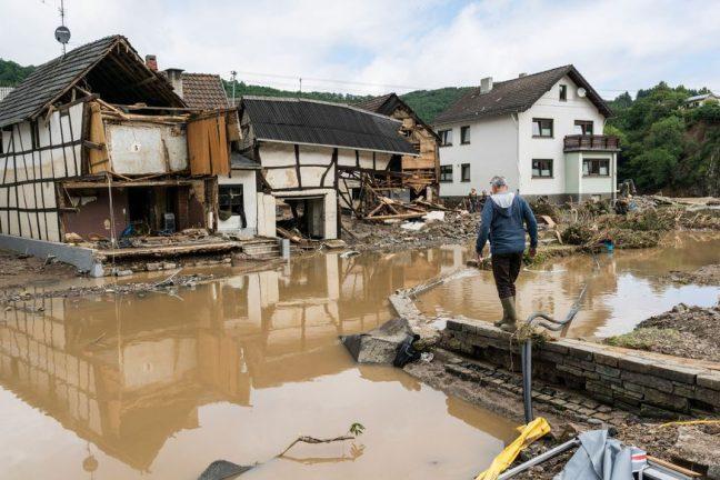 """Les inondations mettent à nu la """"tâche gigantesque"""" de l'Europe pour éviter de futurs dommages climatiques"""