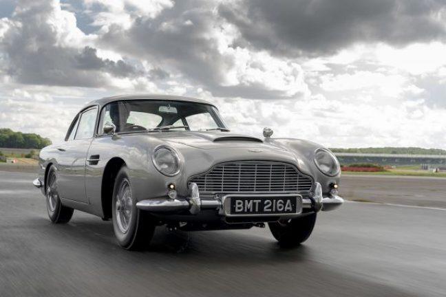 La voiture de James Bond passe à une version upcyclée électrique