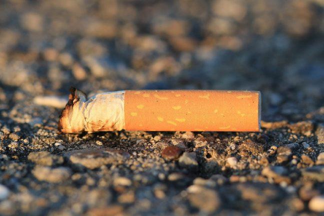 Les mégots de cigarette, fléau des mers et des océans
