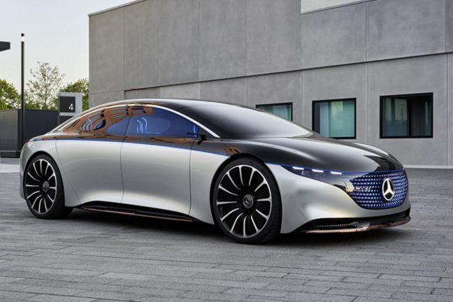 Mercedes-Benz accélère la course des voitures électriques contre Tesla