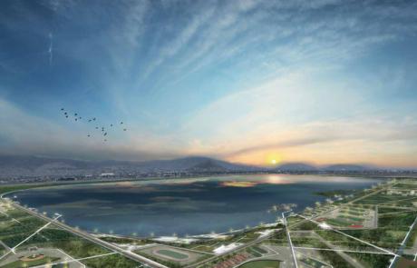 Un parc géant s'installe sur le terrain d'un projet avorté d'aéroport à Mexico
