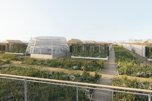 La plus grande ferme urbaine du monde arrive sur un toit parisien