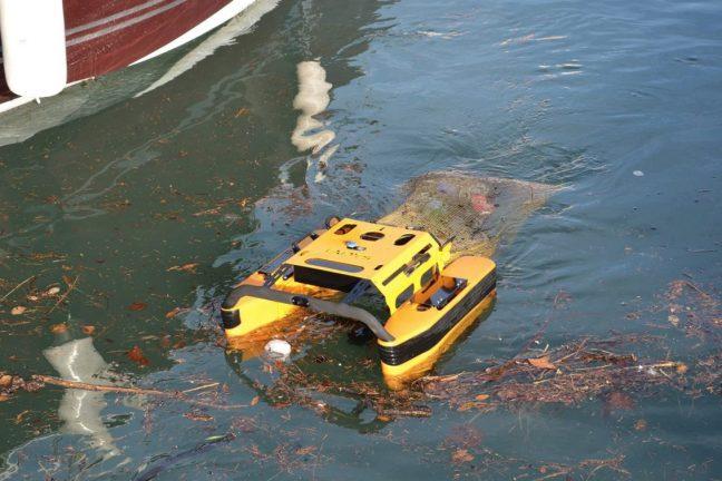 Pollution de l'eau : analyse de la qualité et nettoyage, les robots entrent en scène !
