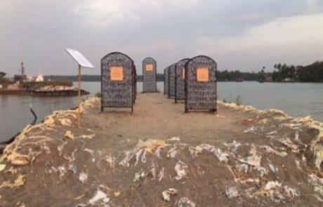 Inauguration du premier « cimetière marin » du monde au Kerala en Inde
