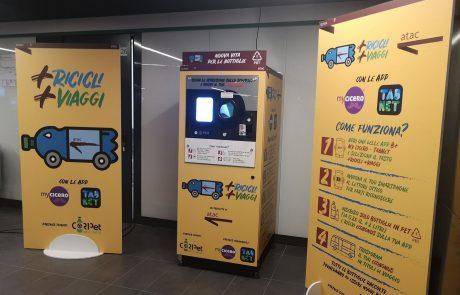 Recycler son plastique permet de bénéficier de voyages gratuits en métro à Rome