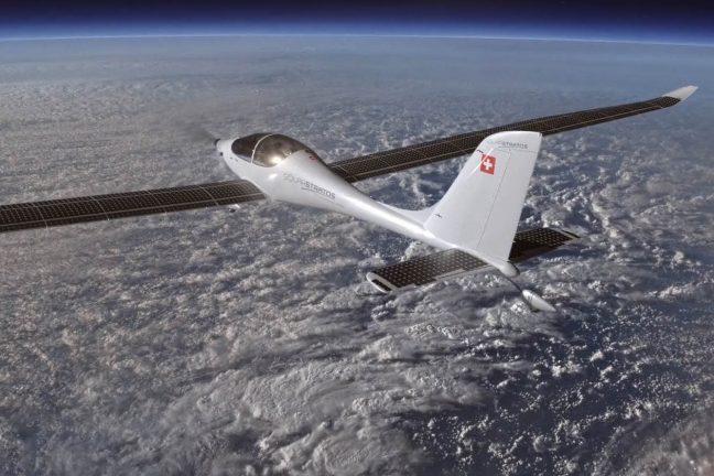 Un 1er vol d'essai réussi pour l'avion solaire SolarStratos