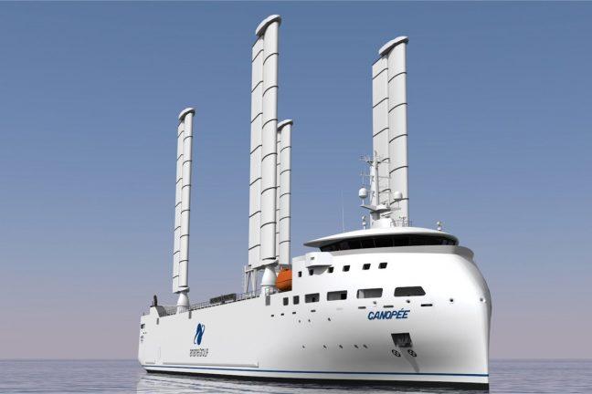 La start-up Ayro veut imposer les ailes rigides dans le transport maritime