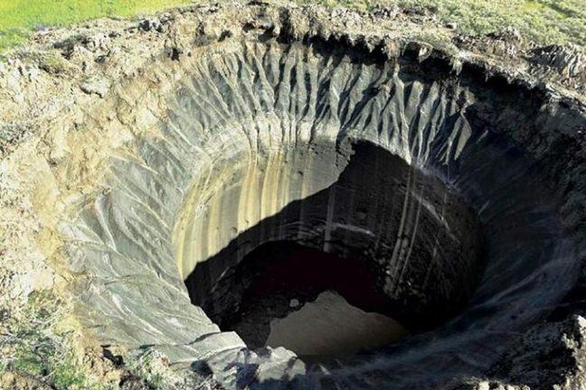 Un énorme cratère de méthane s'est formé en Sibérie
